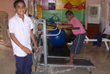 Gymnasium and other Equipment for Cerebral Palsy Disabled People