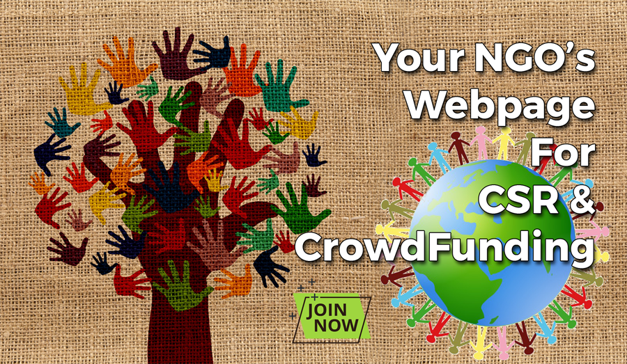 NGO Web Page for CrowdFunding